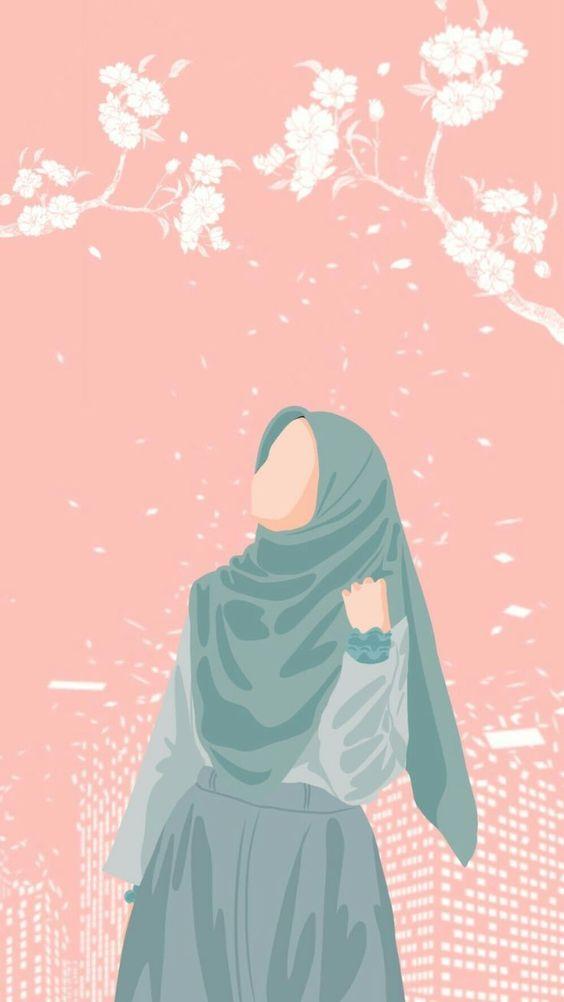 Kumpulan Gambar Kartun Muslimah 38