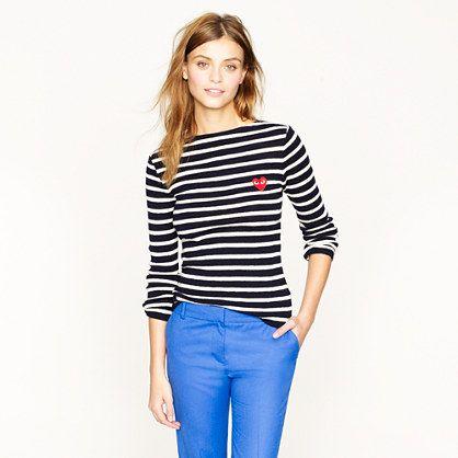 PLAY Comme des Garçons® stripe sweater
