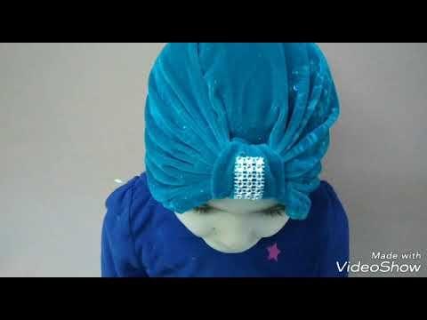 طريقة سهلة وسريعة لخياطة بوني للشعر Youtube Hijab Scarf Bows Diy Ribbon Diy Bow