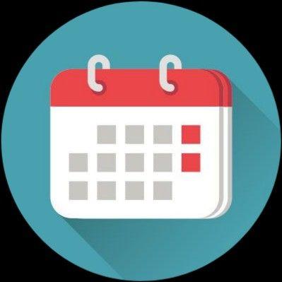 Logo Calendar Png Aesthetic Di 2021 Latar Belakang Warna Solid Pendidikan Seni Aplikasi Iphone