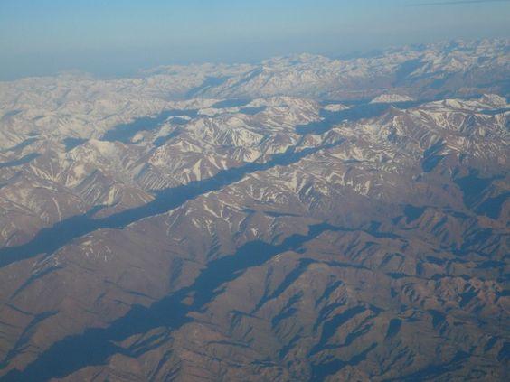La cordillère des Andes (Chili)