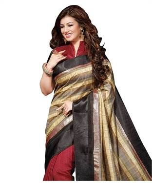 Bhagalpuri Silk Sareee with Blouse | I found an amazing deal at fashionandyou.com and I bet you'll love it too. Check it out!