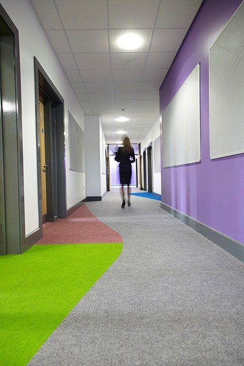 School carpet design: how zoning helps children achieve   Heckmondwike