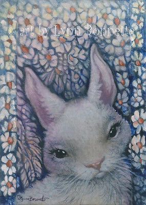 "ORIGINAL ACEO PAINTING, Watercolor, pencil and acrylic paint ACEO size:  2½"" X 3½"" art by Lynn Bonnette"