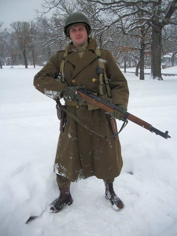 Wwii american gi impression winter gear historical for Gear company of america