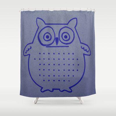 OWL always love you #Shower #Curtain