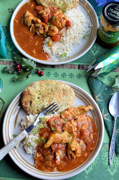 Low Calorie Turkey Curry in a Hurry - 180 calories