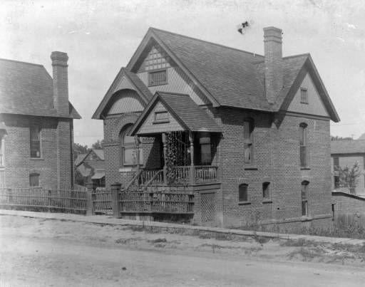 Denver - Johnson residence (252 River Drive) :: Western History, 1894, 1890 - 1900