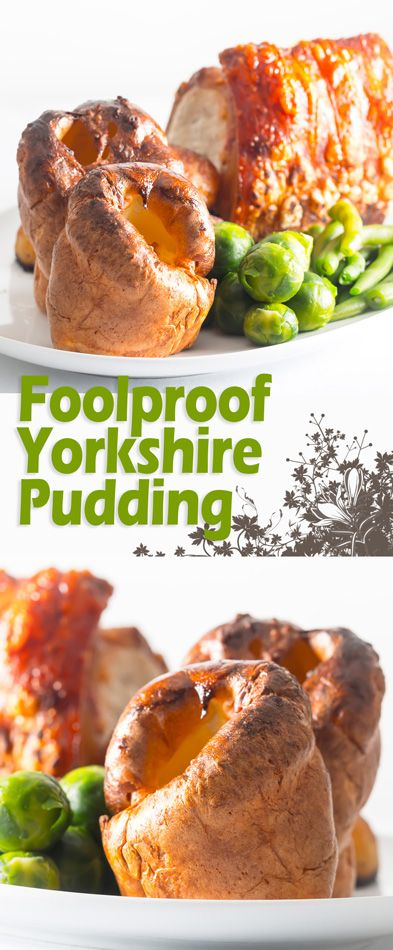 A Yorkshire pudding is a thing of great beauty and a stalwart of and British Roast Dinner, forget the frozen ones go big on this foolproof yorkshire Pudding recipe.