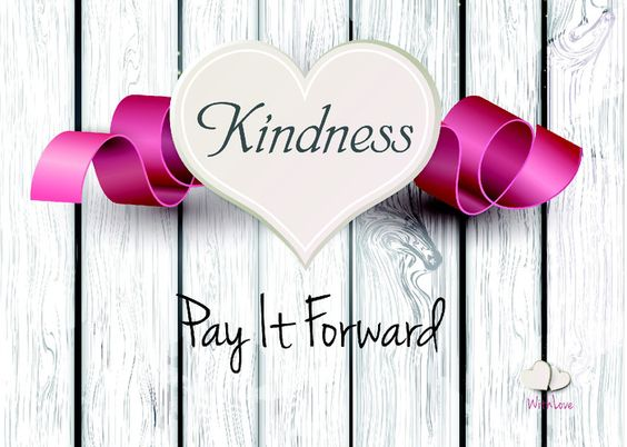 Nothing is better than paying kindness forward.  What a great way to show gratitude!!!  This is a real card (not an e-card) shared from Sendcere.
