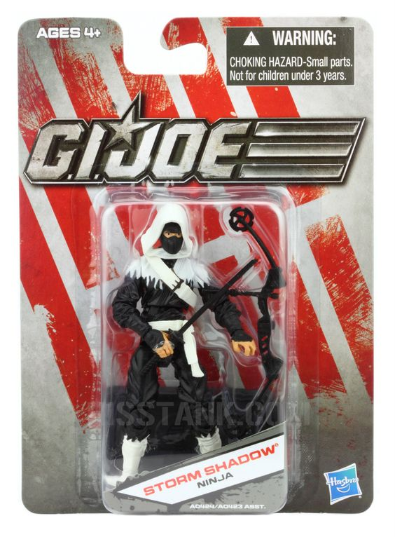 WAVE 1 — Basic 30th Anniversary  Storm Shadow  Available only at Dollar General in the US, 2012