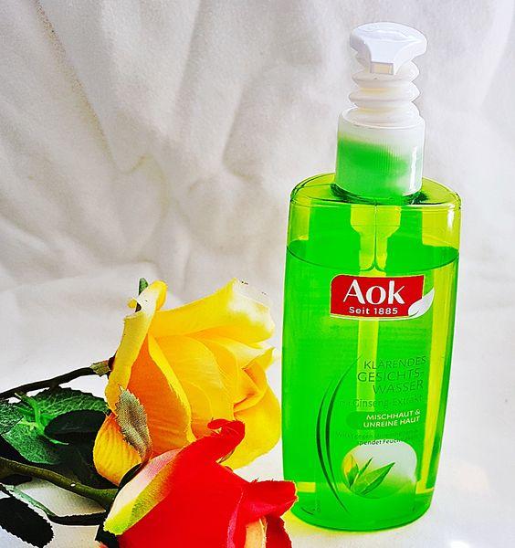 Aok Klärendes Gesichtswasser Erfahrung