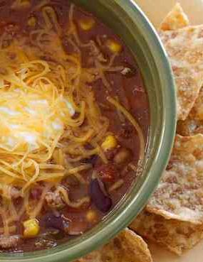 Turkey chili soup isperfect for quick weeknight meals