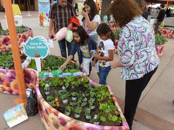 American Heart Ociation Teaching Garden With Bonnie Plants At The World Premier Of Lorax Movie