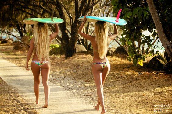 Salty mood Moana bikinis