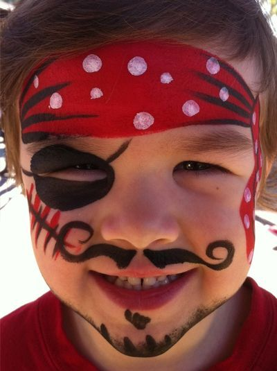Maquillage enfant pirate