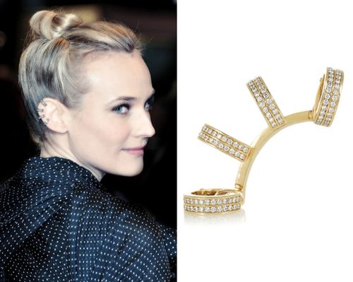 Diane Kruger wearing Repossi