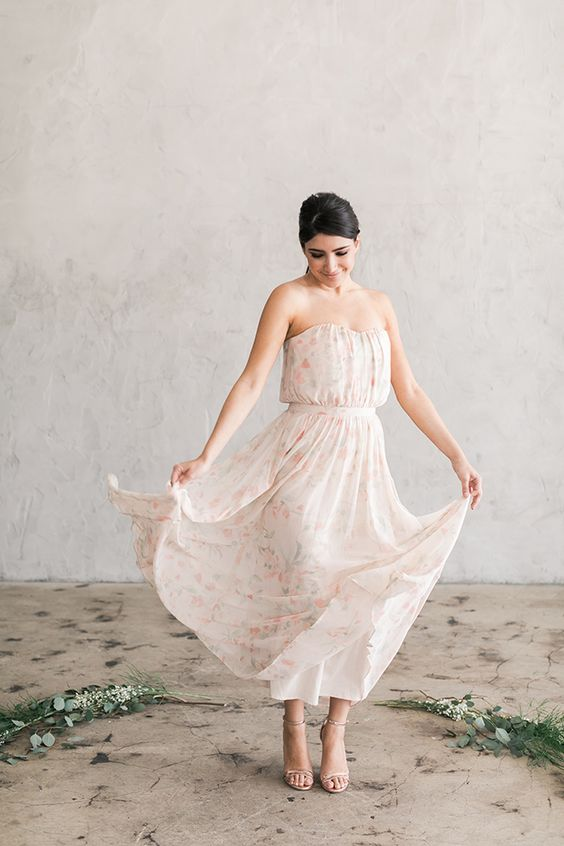 The newest Paper Crown bridesmaids dresses: