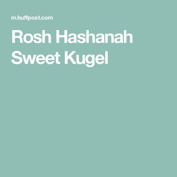 Rosh Hashanah Sweet Kugel