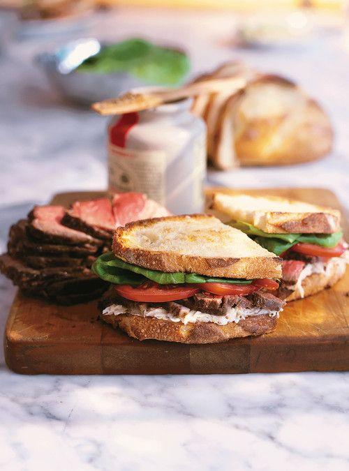 Sandwich au rôti de boeuf avec salade rémoulade Recettes | Ricardo