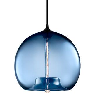 Stamen Pendant in Sapphire. #StamenPendant #lighting #moderndesign #dwr