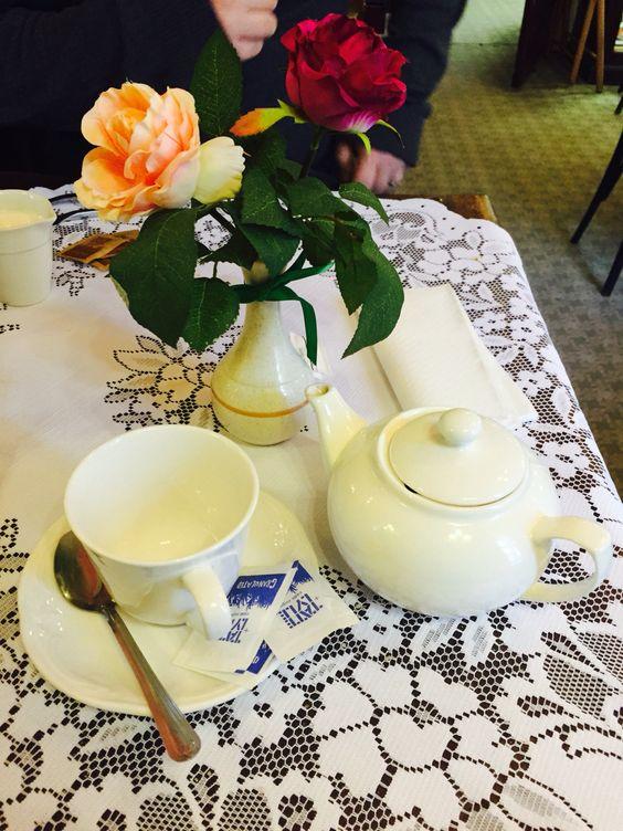 A nice hot pot of Assam tea ☕️