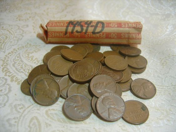 1954 Wheat Penny Value