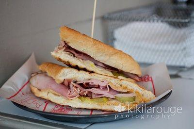 Blunch in Boston- pressed panini sandwiches