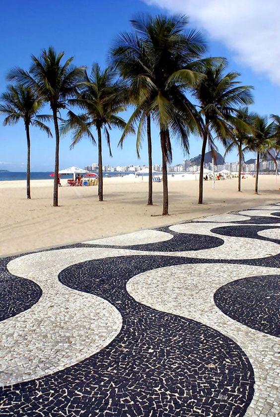 Copacabana, Rio de Janeiro, Brazil.: