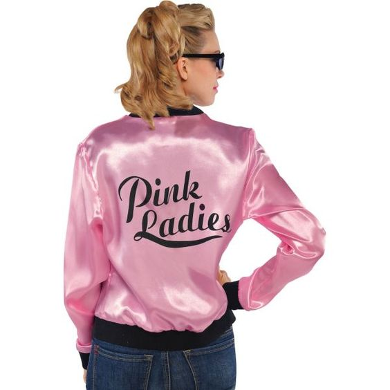 Pink Ladies Jacket | Satin Satin jackets and Jackets