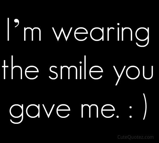 Cute Quotes About Smiling And Love: Cute Romantic Love Quotes For Him & Her