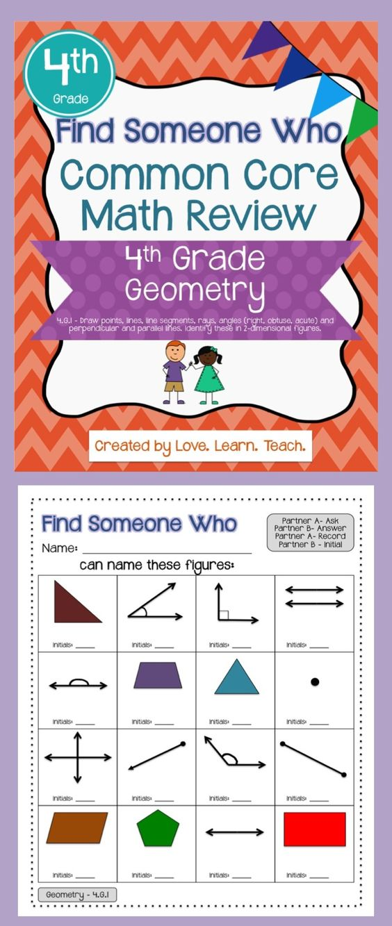 Worksheets Practice Most Likely And Least Events 4th Grade geometry find someone who and cooperative learning on pinterest review structure great for students as an