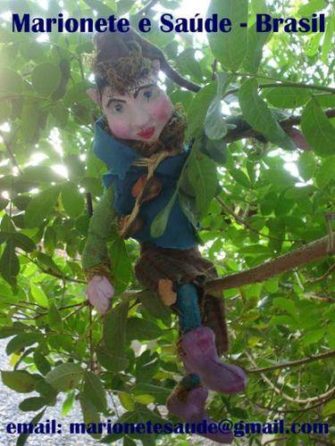 História: Encanto de uma Noite de Verão.  Marionete na Saúde