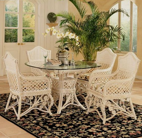 Gazebo Rattan Dining Set Sale From Yesteryear Wicker 5 Piece Dining Set Dining Table Dining Room Furniture Sets