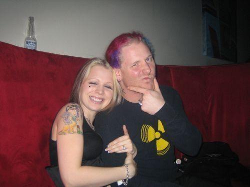 Corey Taylor and wife Scarlett   Corey Taylor, Slipknot ...