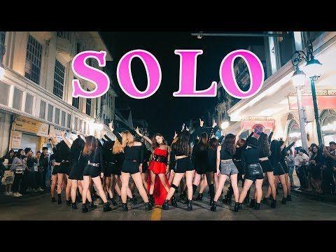 Kpop In Public Challenge Jennie Solo Dance Cover Fgdance From Vietnam 40 Backup Dancers Youtube Pop Dance Dance Videos Simple Dance