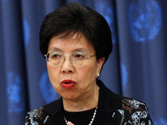 A diretora da Organização Mundial da Saúde Margaret Chan