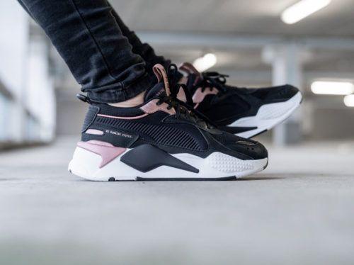zapatillas de mujer puma negras
