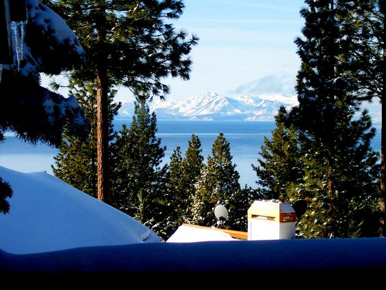 I move to Incline Village, Nevada - my place has a great view of Lake Tahoe from Mt Rose