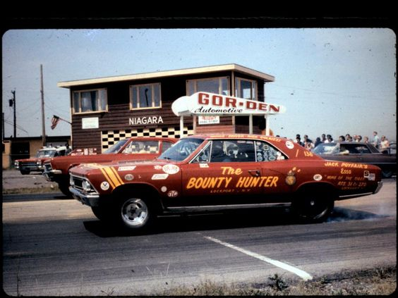 The Bounty Hunter 66 Chevelle