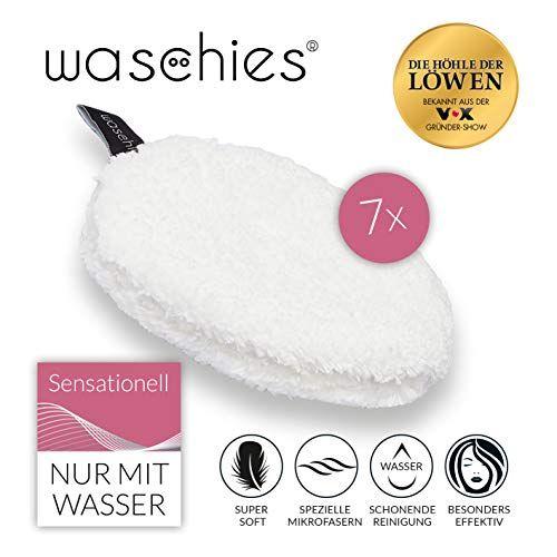 Eur 19 99 Waschies Abschminkpads 7er Set Abschminktucher Nur Mit Wasser Verwendbar Wiederverwendbare Make Up Entferner Pads Fur Sensible Haut Microfaser