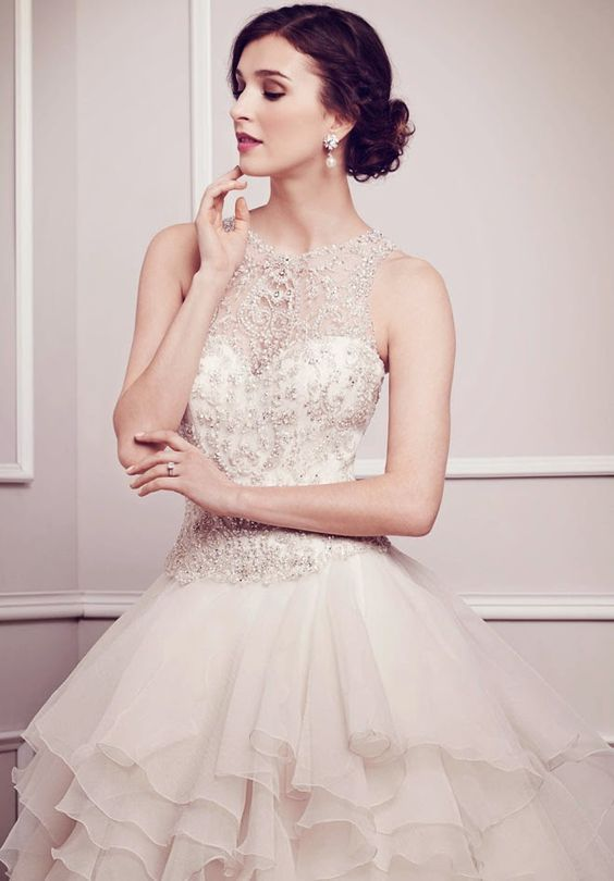 Kenneth Winston Spring 2014 Bridal Collection | bellethemagazine.com