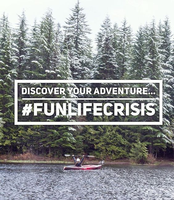 We won't let a little snow stop us from adventure! Discover yours... #funlifecrisis
