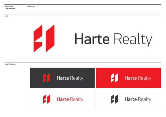 Harte Realty by Flavio Carvalho, via Behance