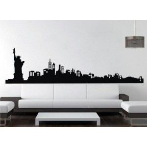 Vinilos Decorativos Adhesivos de Pared New York AQM3755