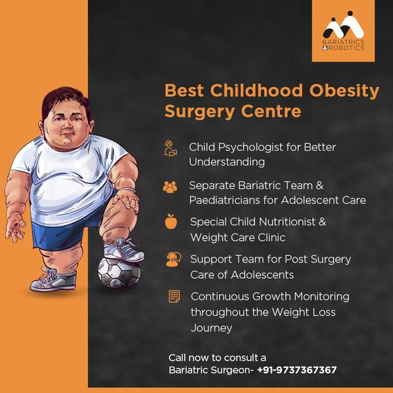 Best Childhood Obesity Surgery Centre in India