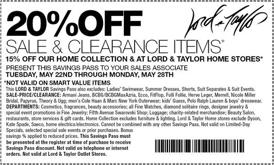 f8b0c80e0dd Coupons lord and taylor 25 off   Canopy parking denver airport coupon