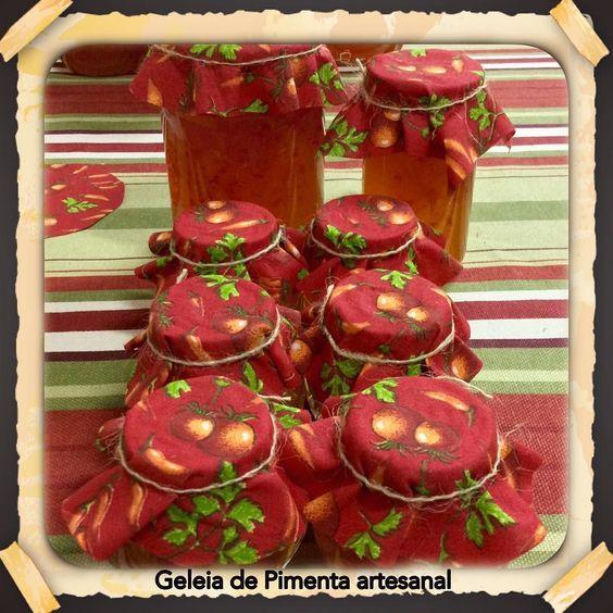 Esta geleia de pimenta e maravilhosa!