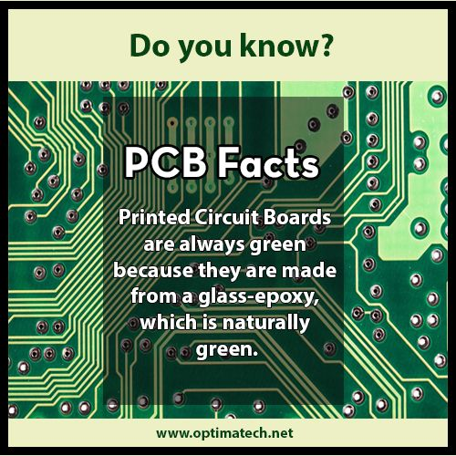 Pcb Facts Printed Circuit Boards Knowledge Electronic Engineering