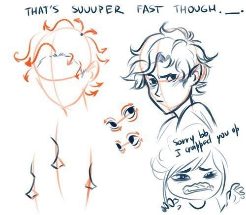 Drawing Hairstyles For Your Characters Boy Hair Drawing Drawing Hair On All Tutorials Deviantart How To Draw H In 2020 Boy Hair Drawing Guy Drawing Drawing Male Hair